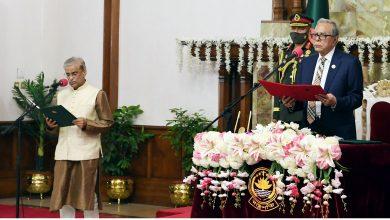 Photo of প্রফেসর ড. শামসুল আলম প্রতিমন্ত্রী হিসাবে শপথ নিয়েছেন